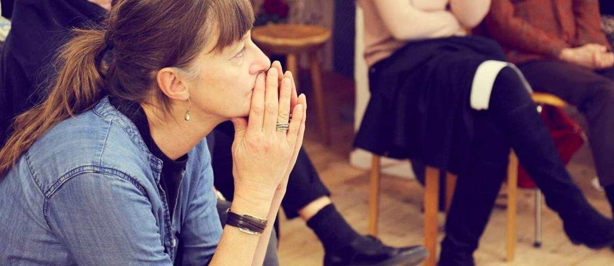 Die externe kursleiterin Jantine aus Amsterdam