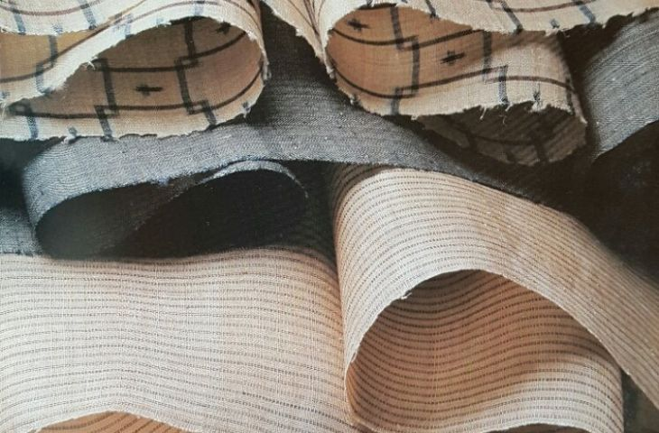 Kasuri-Gewebe aus Basho-Fasern